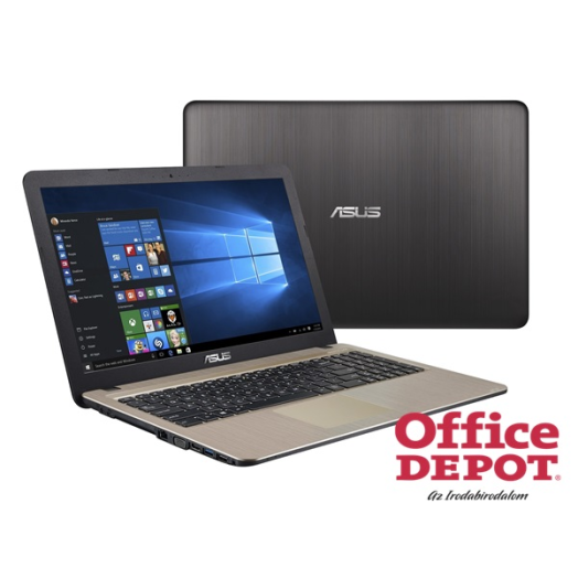 "ASUS X540LA-XX004T 15,6""/Intel Core i3-4005U/4GB/1TB/Win10/DVD író/fekete notebook"