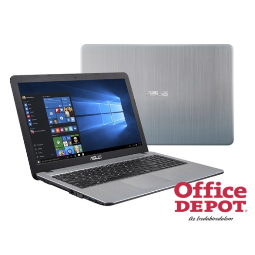 "ASUS X540LA-XX053T 15,6""/Intel Core i3-4005U/4GB/1TB/Win10/DVD író/ezüst notebook"
