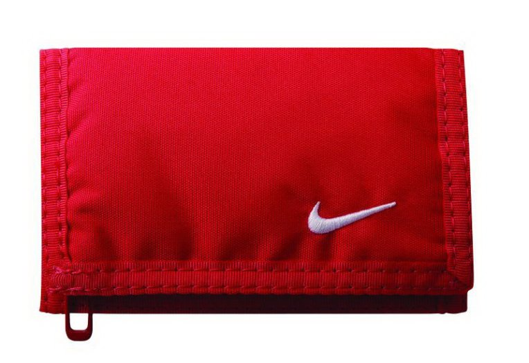 NIKE BASIC WALLET GYM RED/WHITE