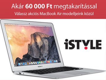 Macbook Air laptop akció, akár -60 000 Ft