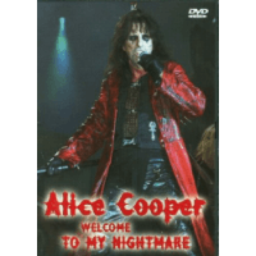 Welcome to My Nightmare DVD