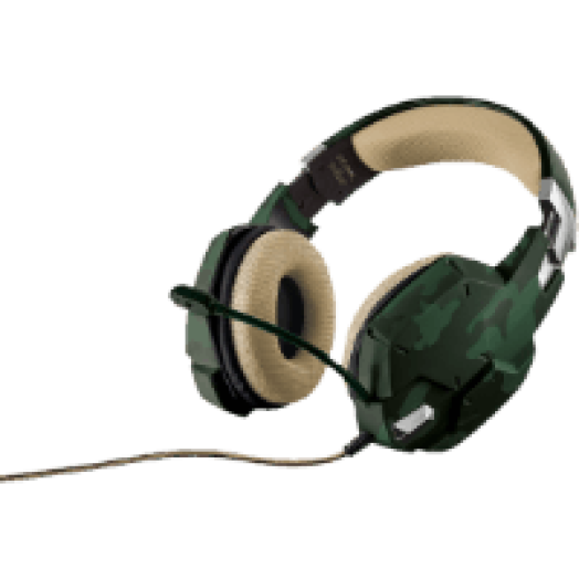 GXT 322C zöld gaming headset (20865)