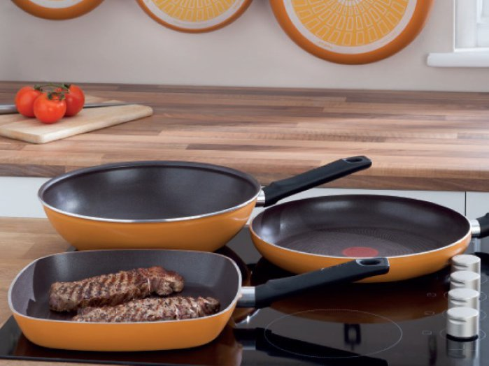 Tefal Cook Plus serpenyő (grillezőserpenyő)