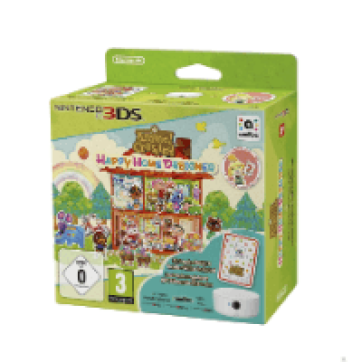 3DS ANIMAL CROSSING-HAPPY HOME DESIGNER-CARD