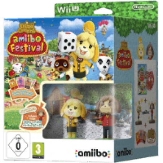 Animal Crossing: Happy Home Designer + 2 amiibo figura + 3 amiibo kártya (Wii U)