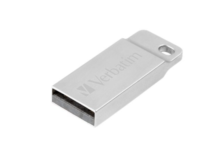 Pendrive 16GB Verbatim E.M. USB 2.0 Exclusive Metal