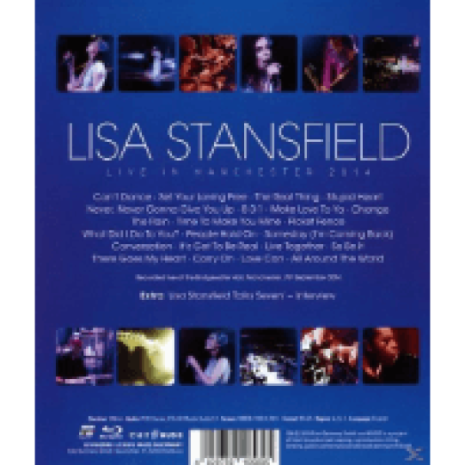 Live in Manchester Blu-ray