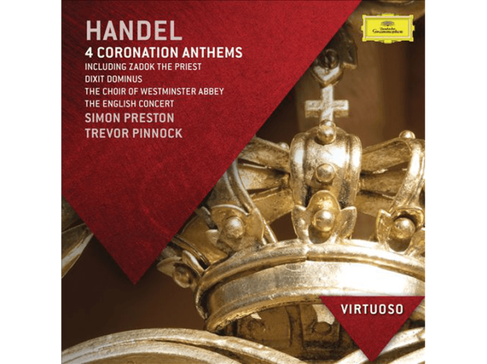 Handel - 4 Coronation Anthems CD