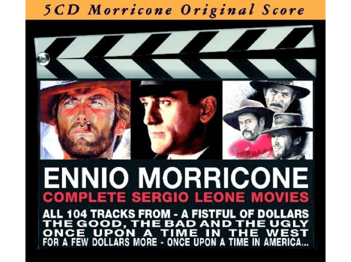 Complete Sergio Leone Movies CD