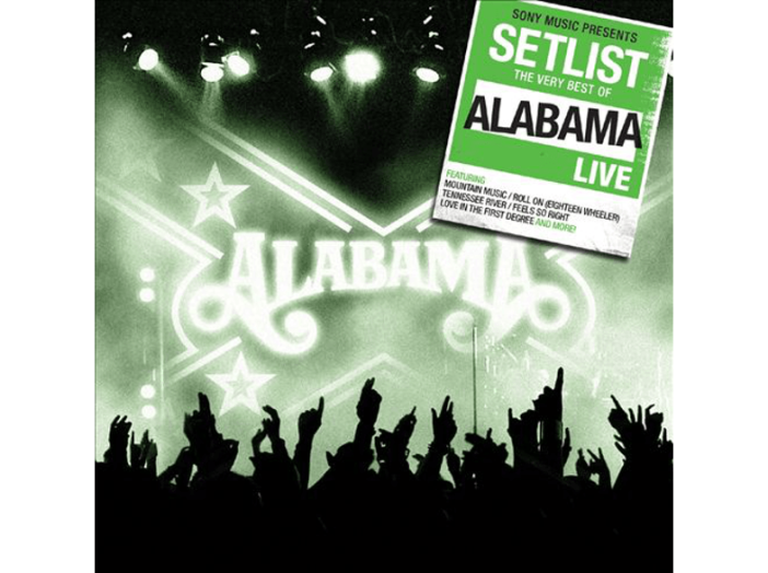 Setlist - The Very Best of Alabama Live CD
