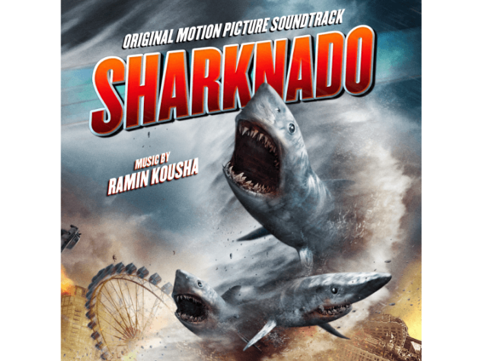 Sharknado (Original Motion Picture Soundtrack) (Cápavihar) CD