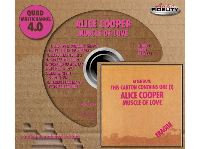 Muscle of Love (Limited Numbered Edition) SACD