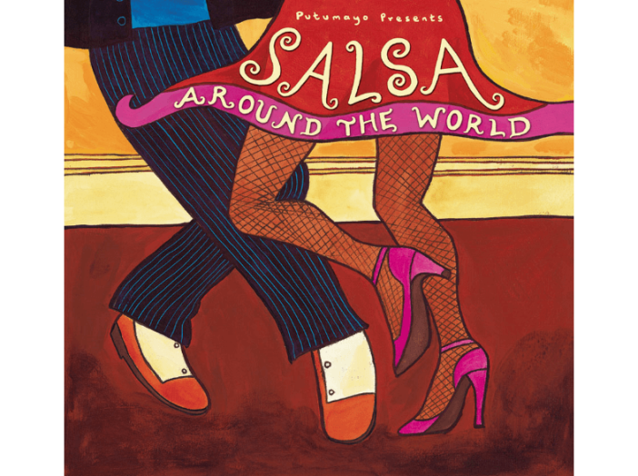 Salsa Around the World CD