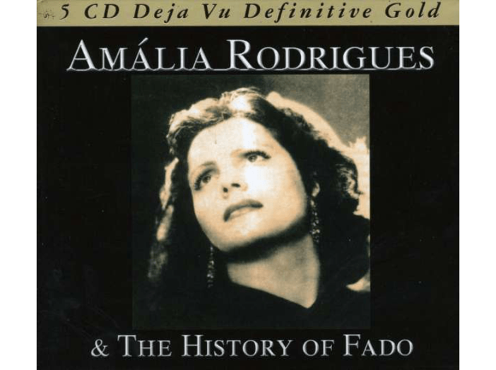 Amália Rodrigues & The History of Fado CD