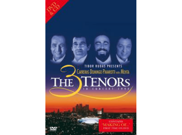 The 3 Tenors in Concert 1994 DVD+CD