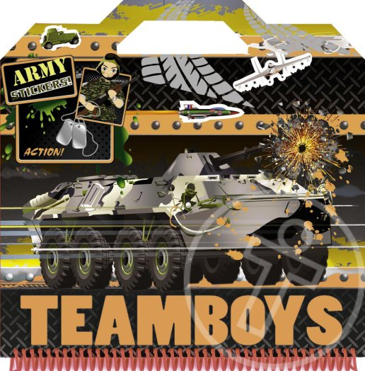 Teamboys - Stickers!-Army Action!