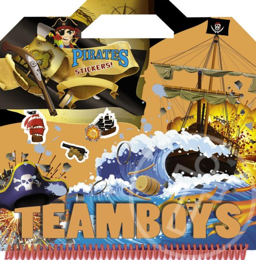 Teamboys - Stickers - Kalóz