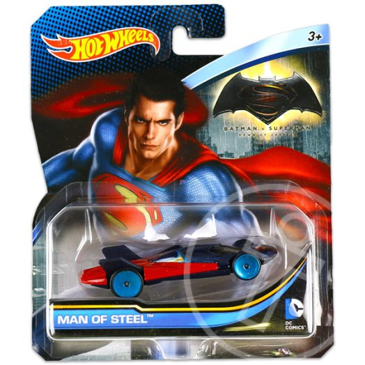 Hot Wheels DC karakter kisautók: Man of Steel