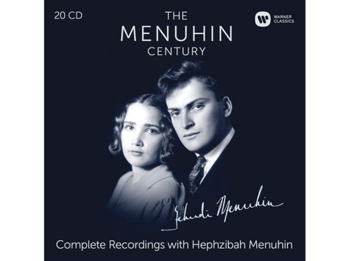The Menuhin Century - Complete Recordings with Hephzibah Menuhin CD