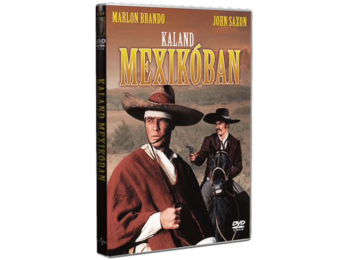 Kaland Mexikóban DVD