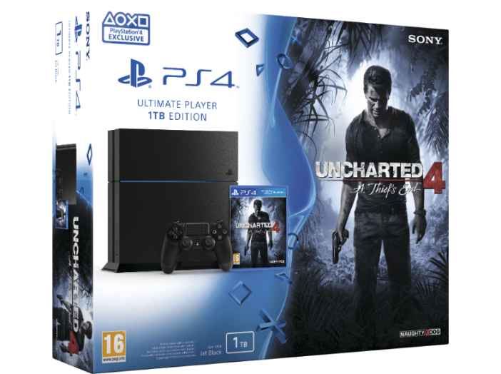 PlayStation 4 1 TB + Uncharted 4 (PS4)