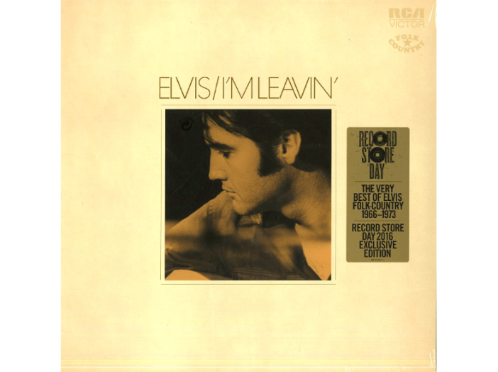 I'm Leavin' - The Very Best of Elvis Folk-Country 1966-1973 LP