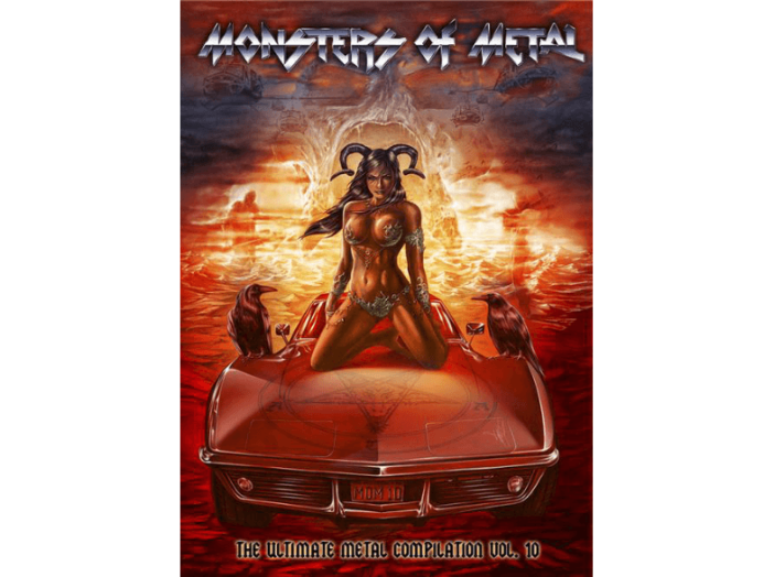 Monsters of Metal, Vol. 10 (Digipak) Blu-ray+DVD