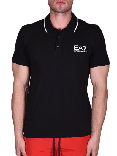 MENS KNIT POLO     PACIFIC