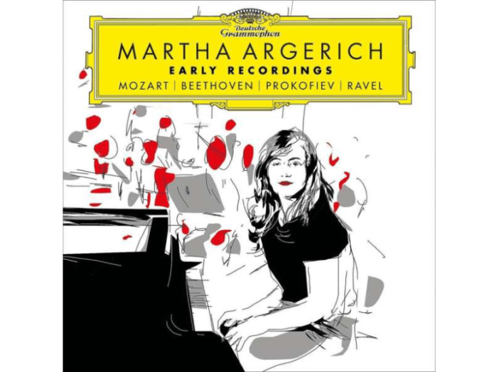 Martha Argerich (Early Recordings) CD