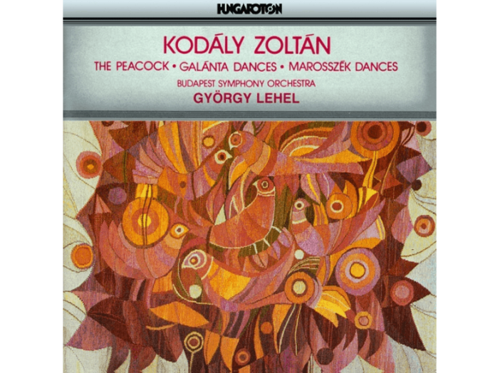 The Peacock, Galánta Dances, Marosszék Dances CD