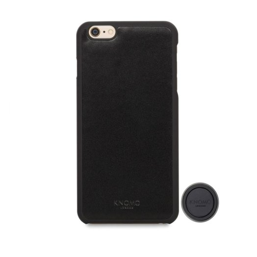 Knomo - Mag:Case iPhone 6 Plus/ 6s Plus tok + Mag:Mount mágnes - Fekete
