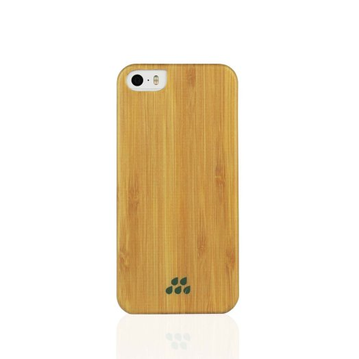 Evutec - Wood SI iPhone 5/5s/SE tok - Bambusz
