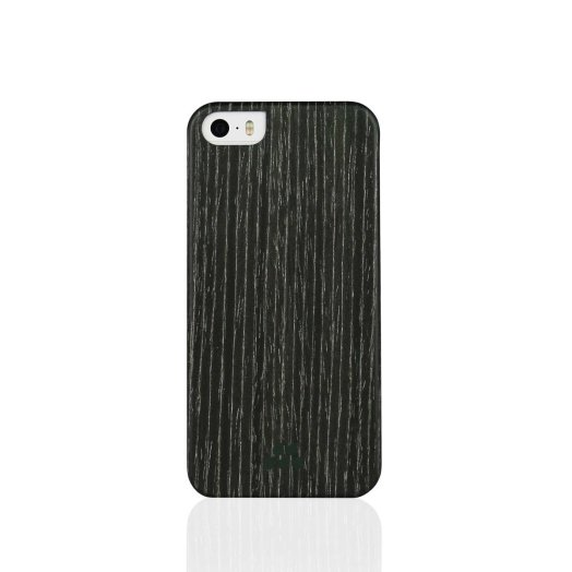 Evutec - Wood SI iPhone 5/5s/SE tok - Black apricot