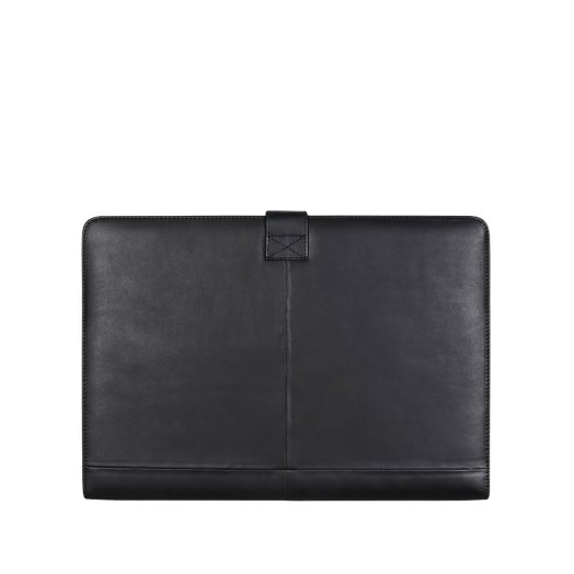 "Decoded - Leather Slim MacBook Pro 13"" tok - Fekete"