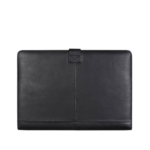 "Decoded - Leather Slim MacBook Pro Retina 15"" tok - Fekete"