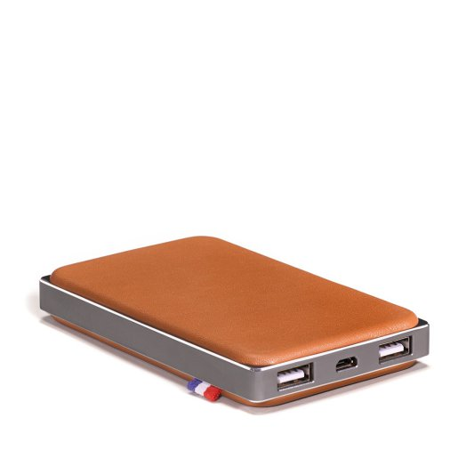 Decoded Leather Powerbank - Barna