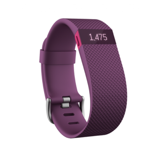 Fitbit - Charge HR - nagy - lila