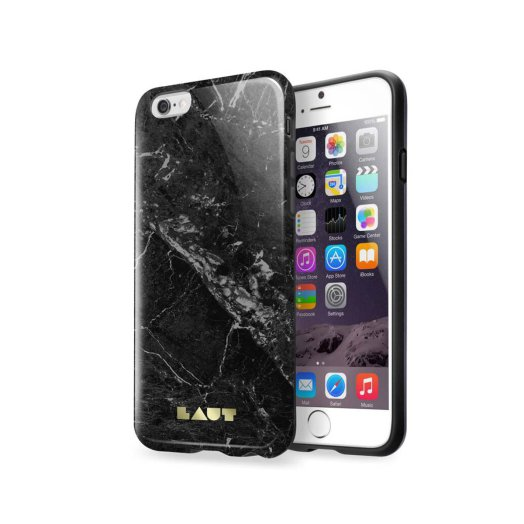 LAUT - Huex Elements iPhone 6/6s tok - Fekete