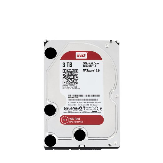 "Western Digital - Red 3TB IntelliPower 64MB SATA3 3,5"" HDD"