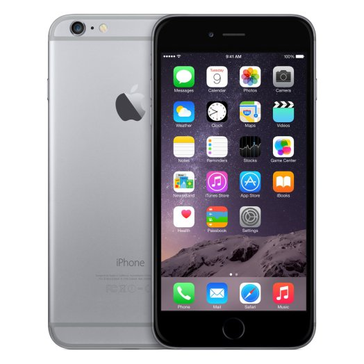 Apple iPhone 6 Plus 16GB - asztroszürke