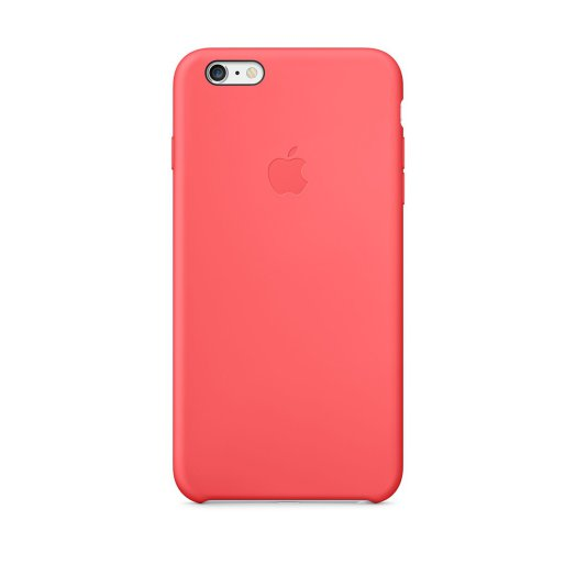 Apple iPhone 6 Plus Silicone Case - rózsaszín