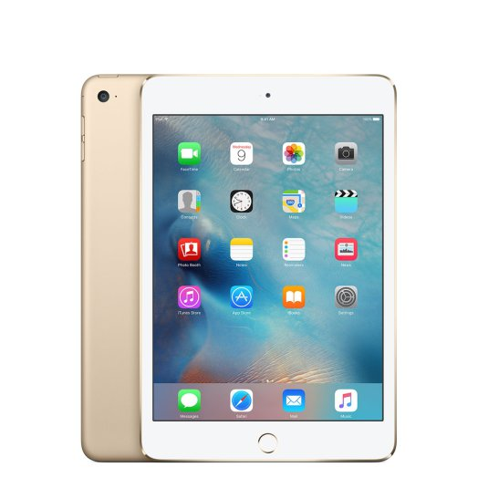 iPad mini 4 Wi-Fi 128GB arany
