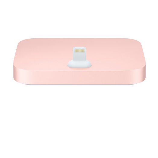 Apple - iPhone Lightning Dock - rozéarany