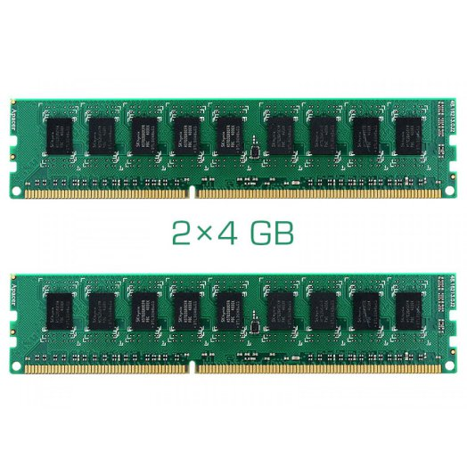 Synology 2x4 GB ECC memory kit