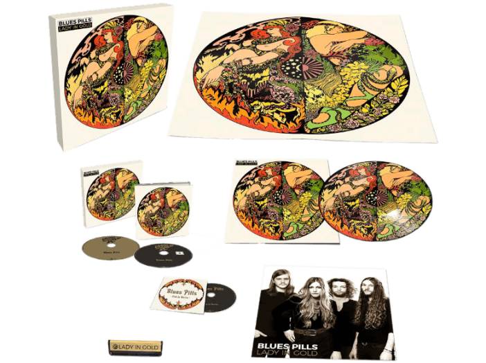 Lady In Gold (Limited Edition Box Set) CD+DVD+LP