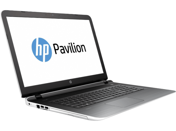 "Pavilion 17 fehér notebook P0H08EA (17,3""/AMD A4/4GB/500GB/NO OS)"