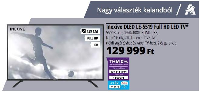 inexive dled le 5519 full hd led tv teszt ri s tv olcs n globalplaza. Black Bedroom Furniture Sets. Home Design Ideas