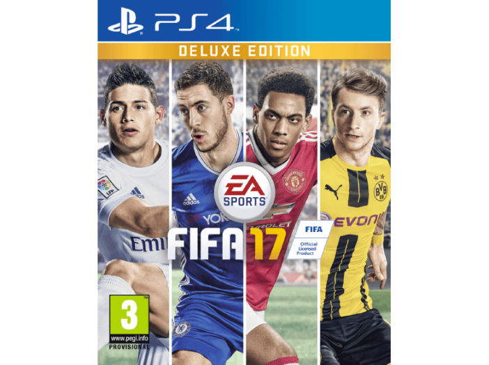 PS4 FIFA17 DELUXE