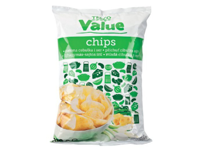 Tesco Value chips