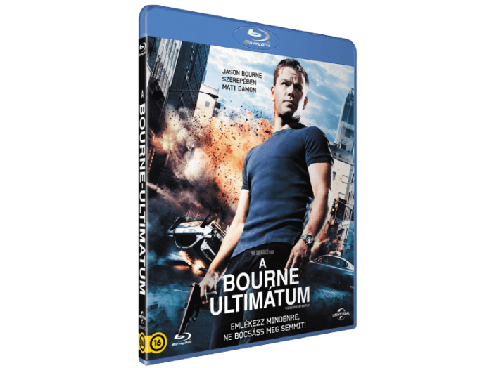 A Bourne-ultimátum Blu-ray